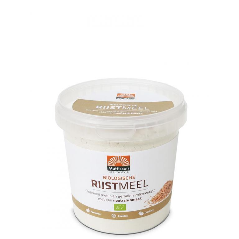 Rijstmeel Bio (500 gram)