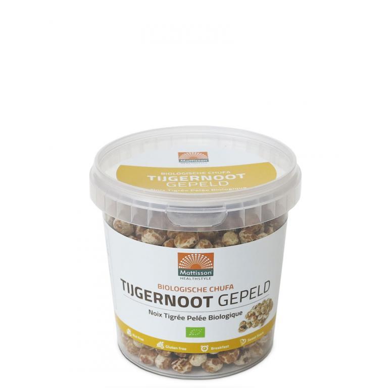 Tijgernoot Gepeld Bio (450 gram)