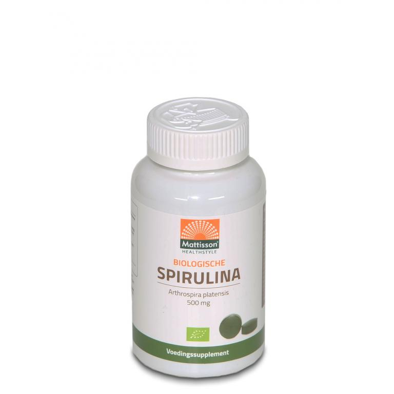 Spirulina Bio Tabletten (500 mg)