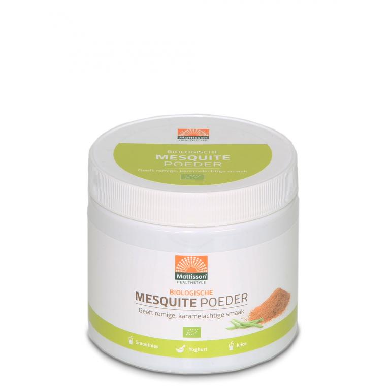 Mesquite Poeder Bio (300 gram)