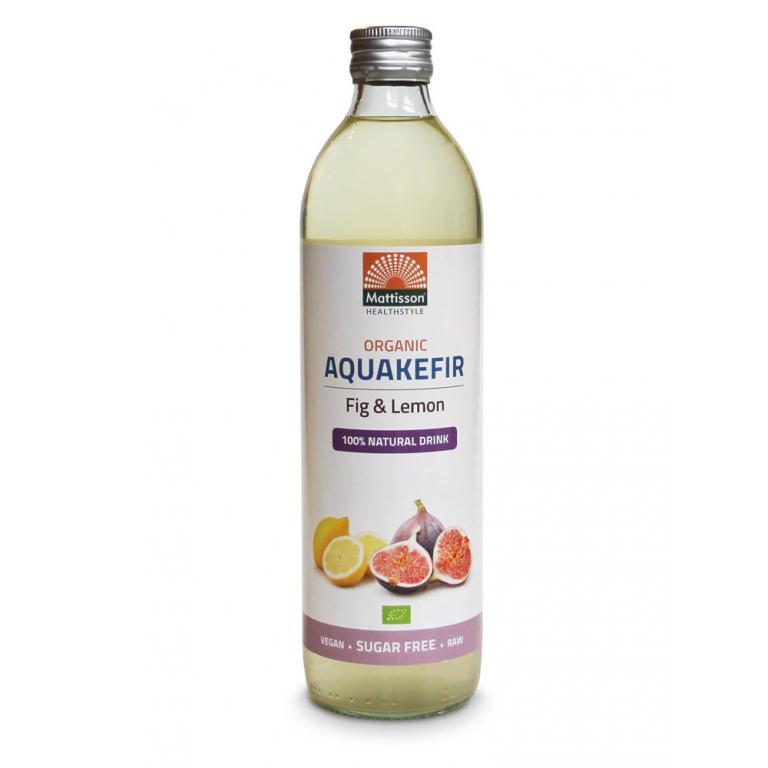 Aquakefir Fig & Lemon Bio (500 ml)