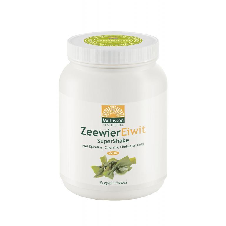 Zeewier Eiwit Super Shake (500 gram)