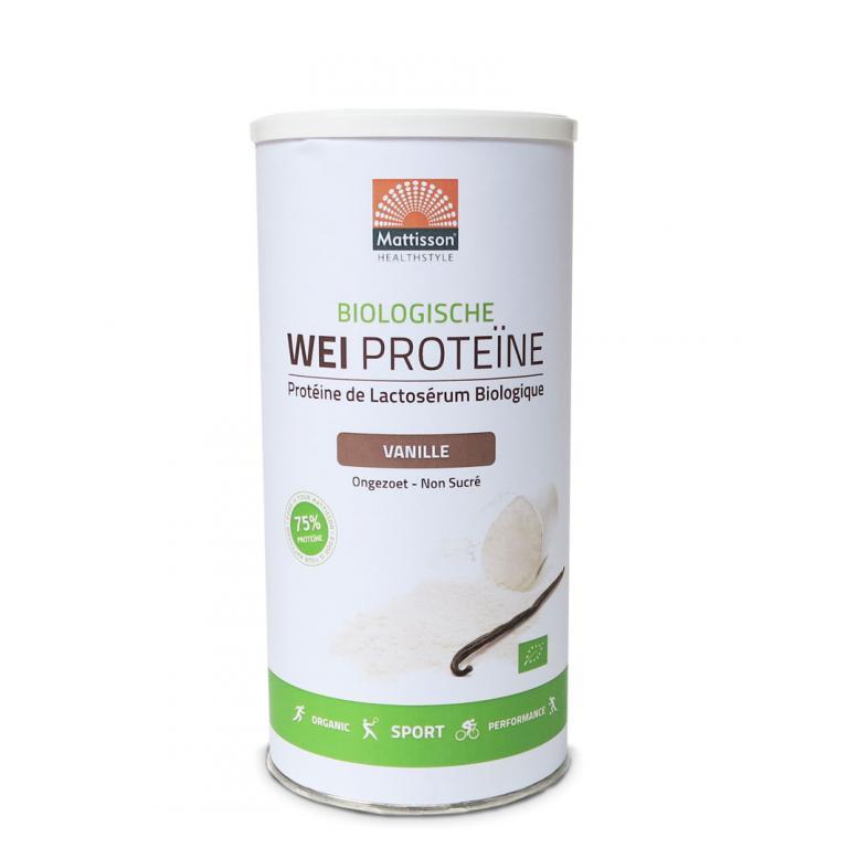 Wei Proteïne Vanille Bio (450 gram)