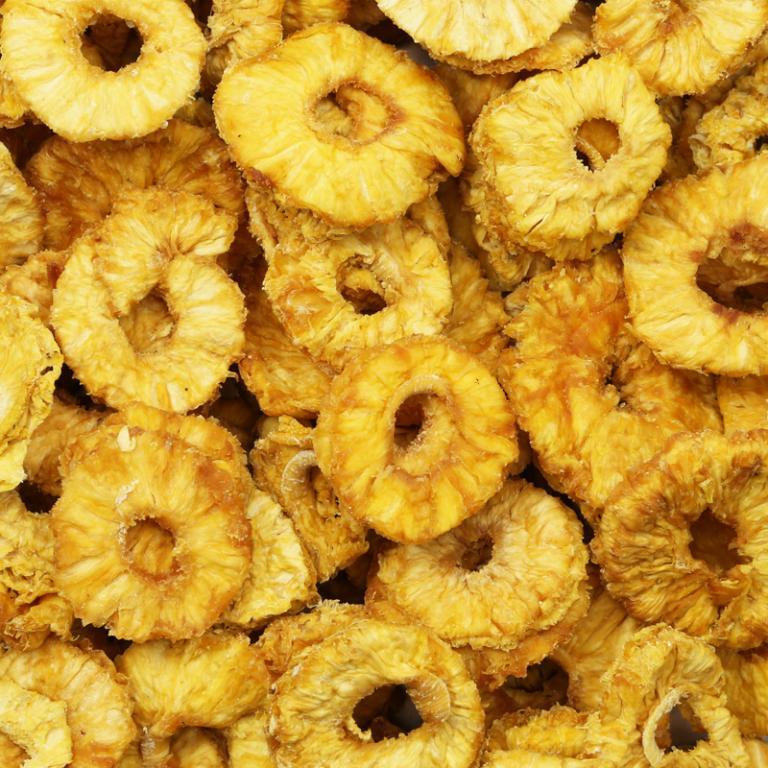 Ananas Ringen (Ongezoet)