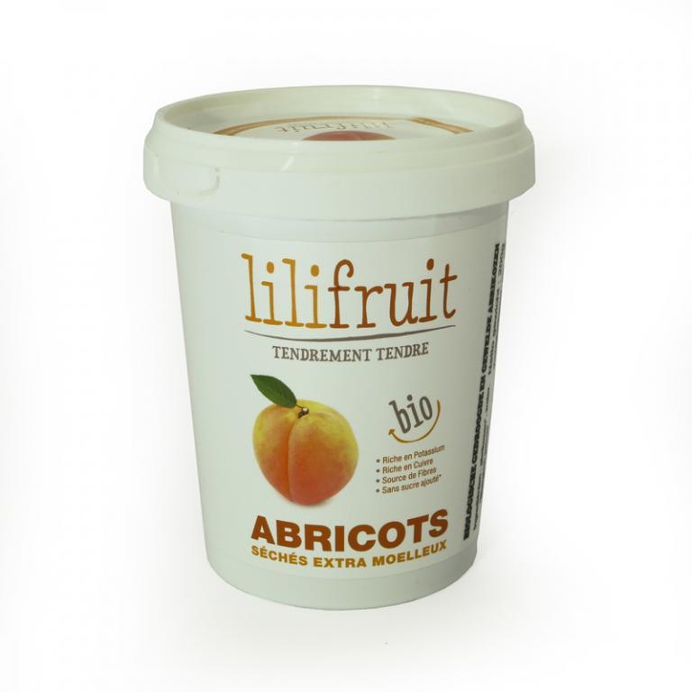 Biologische gewelde abrikozen (200 gr)