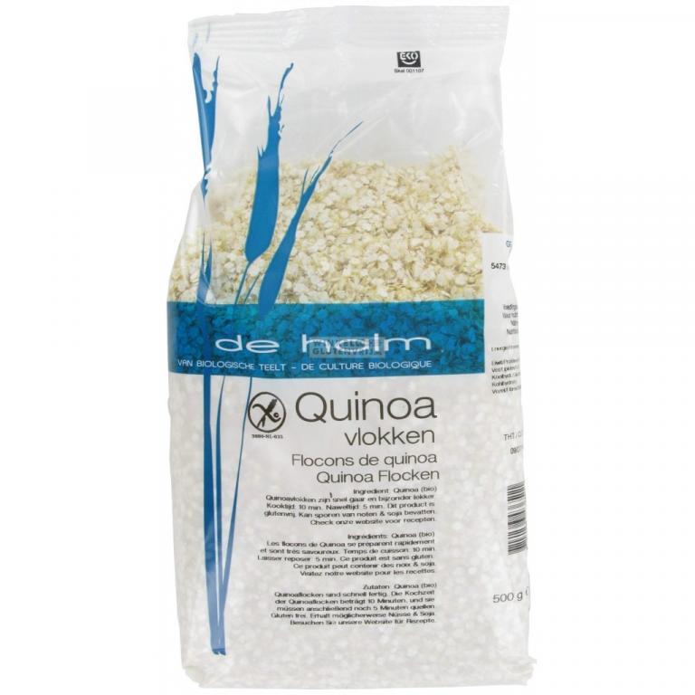 De Halm Quinoa Vlokken (500 gram)