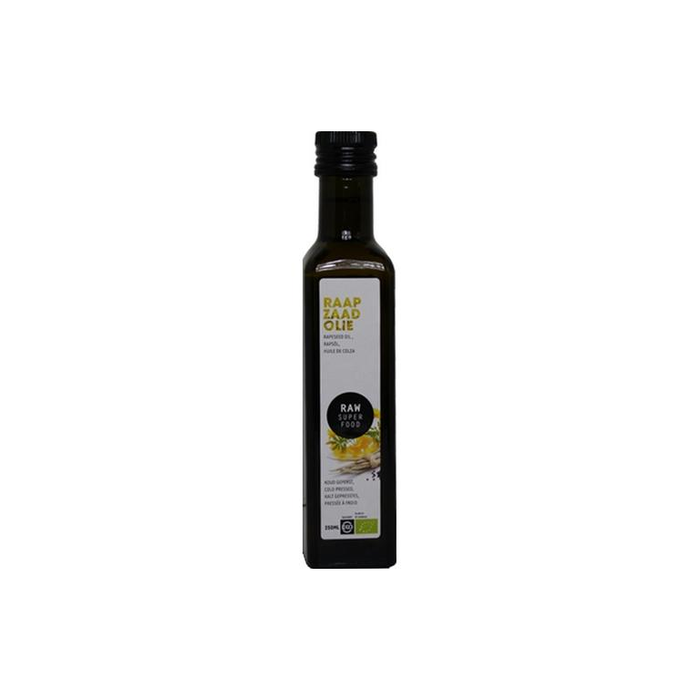 Raapzaadolie Raw Bio (250 ml)