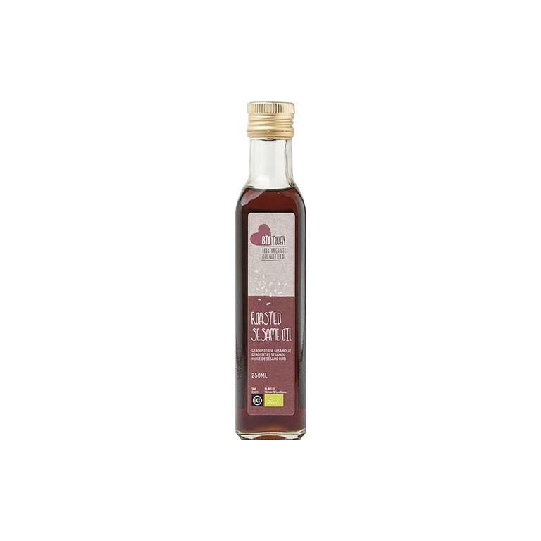 Sesamolie Geroosterd Bio (250 ml)