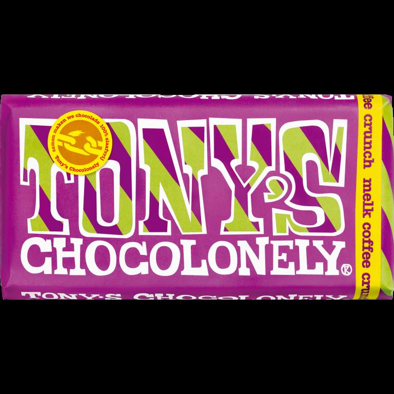 Tony's Chocolonely Melk Coffee Crunch