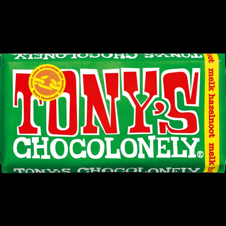 Tony's Chocolonely Melk Hazelnoot
