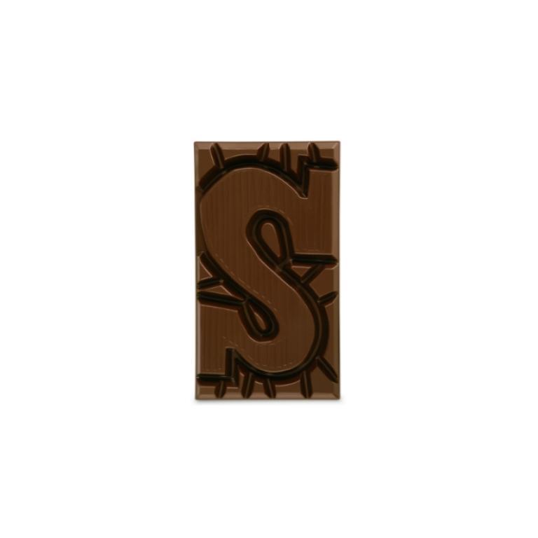 TONY'S CHOCOLONELY melk letter S