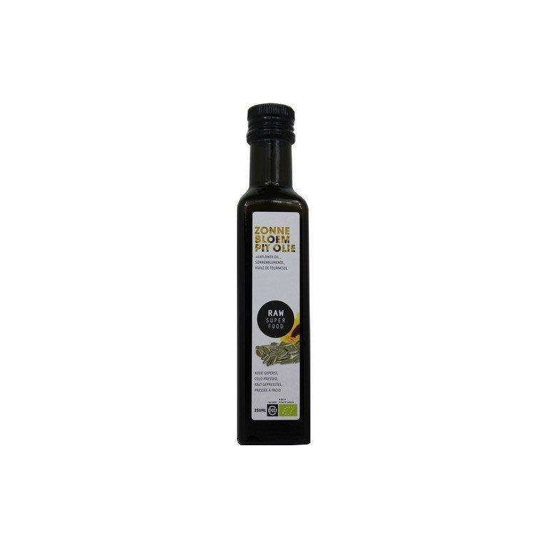Zonnebloempitolie Raw Bio (250 ml)