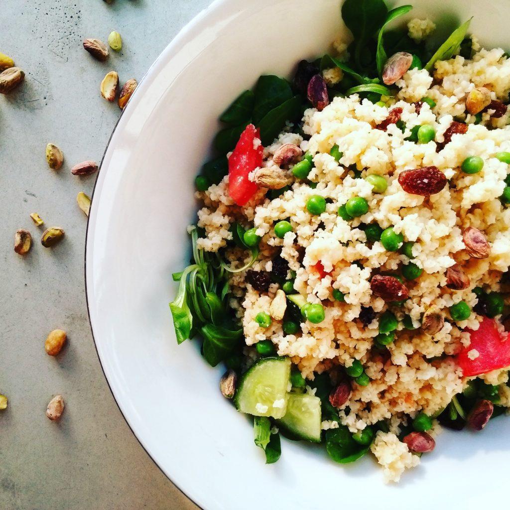Glutenvrije couscous salade