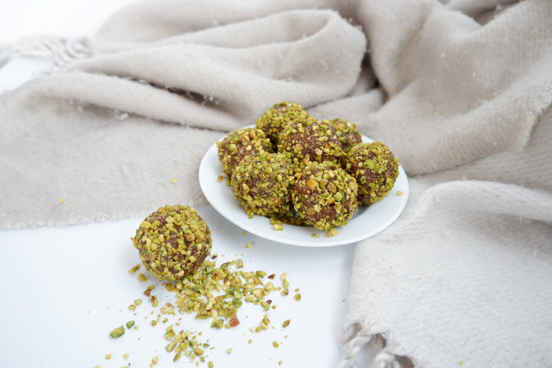 Pindakaas-noten balls