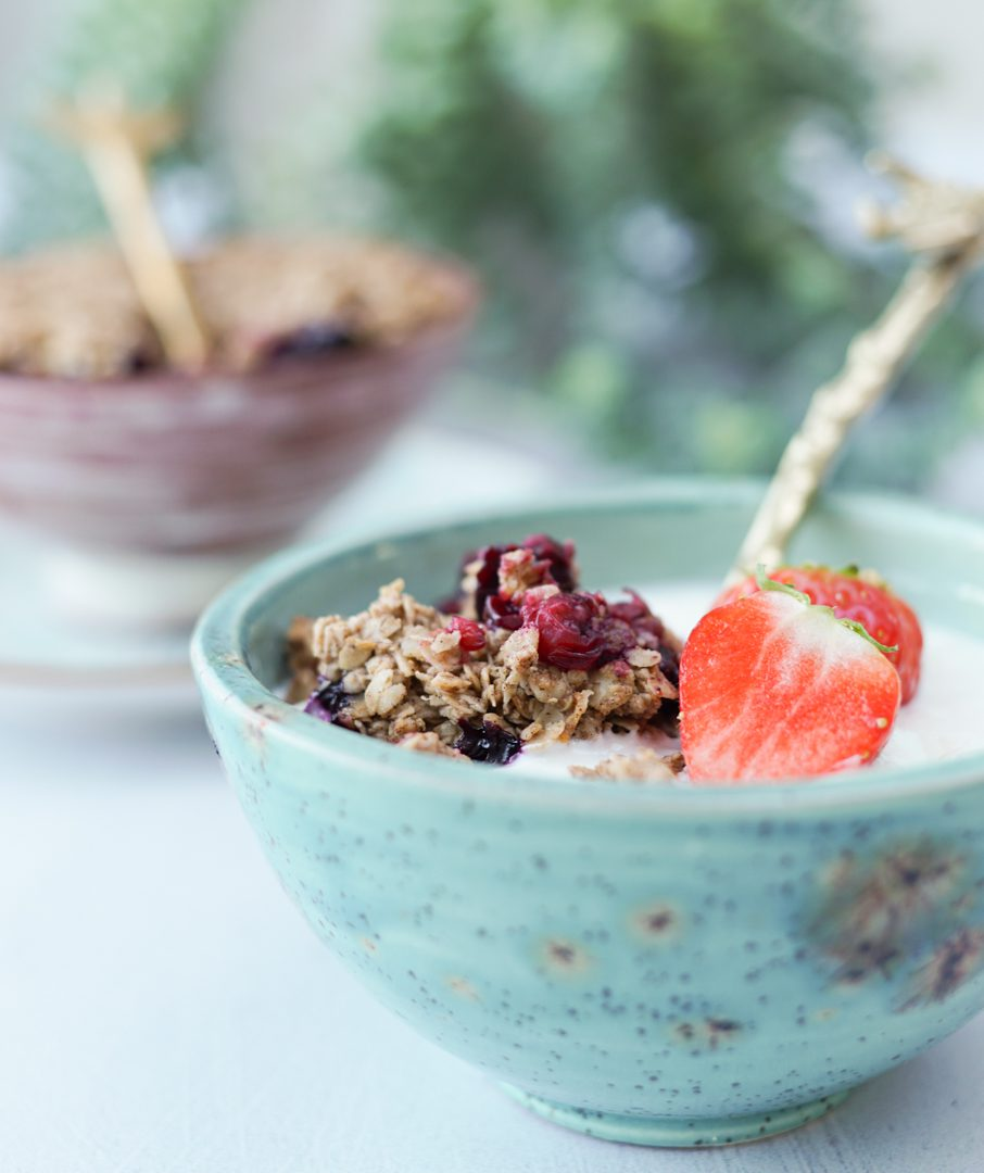 Speculaas crumble