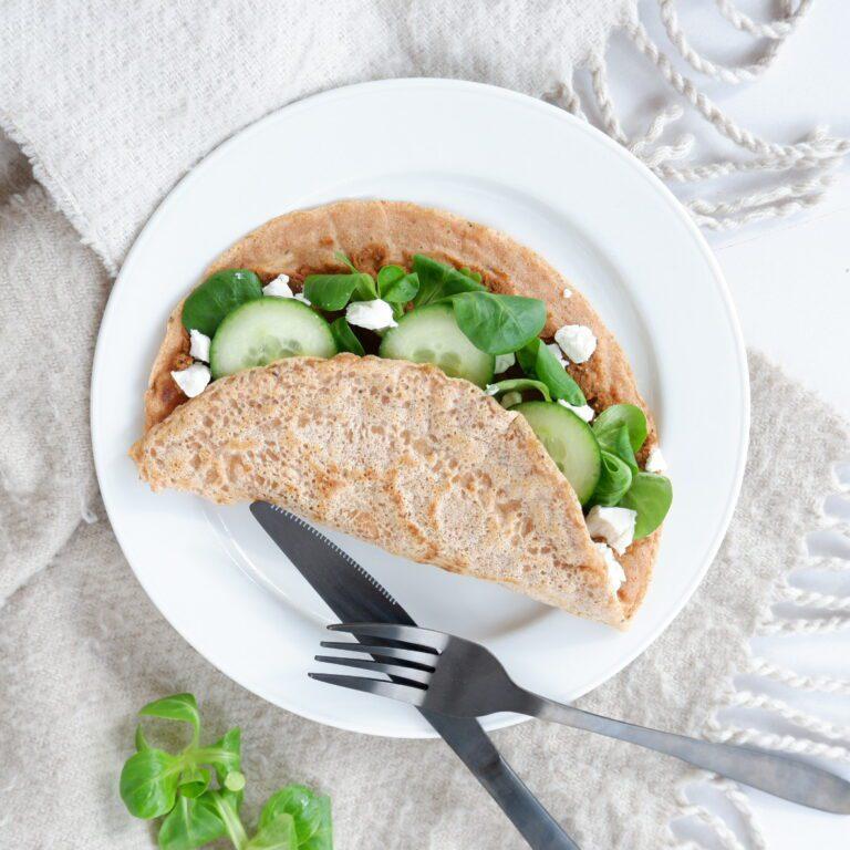Hartige lunch pannenkoeken