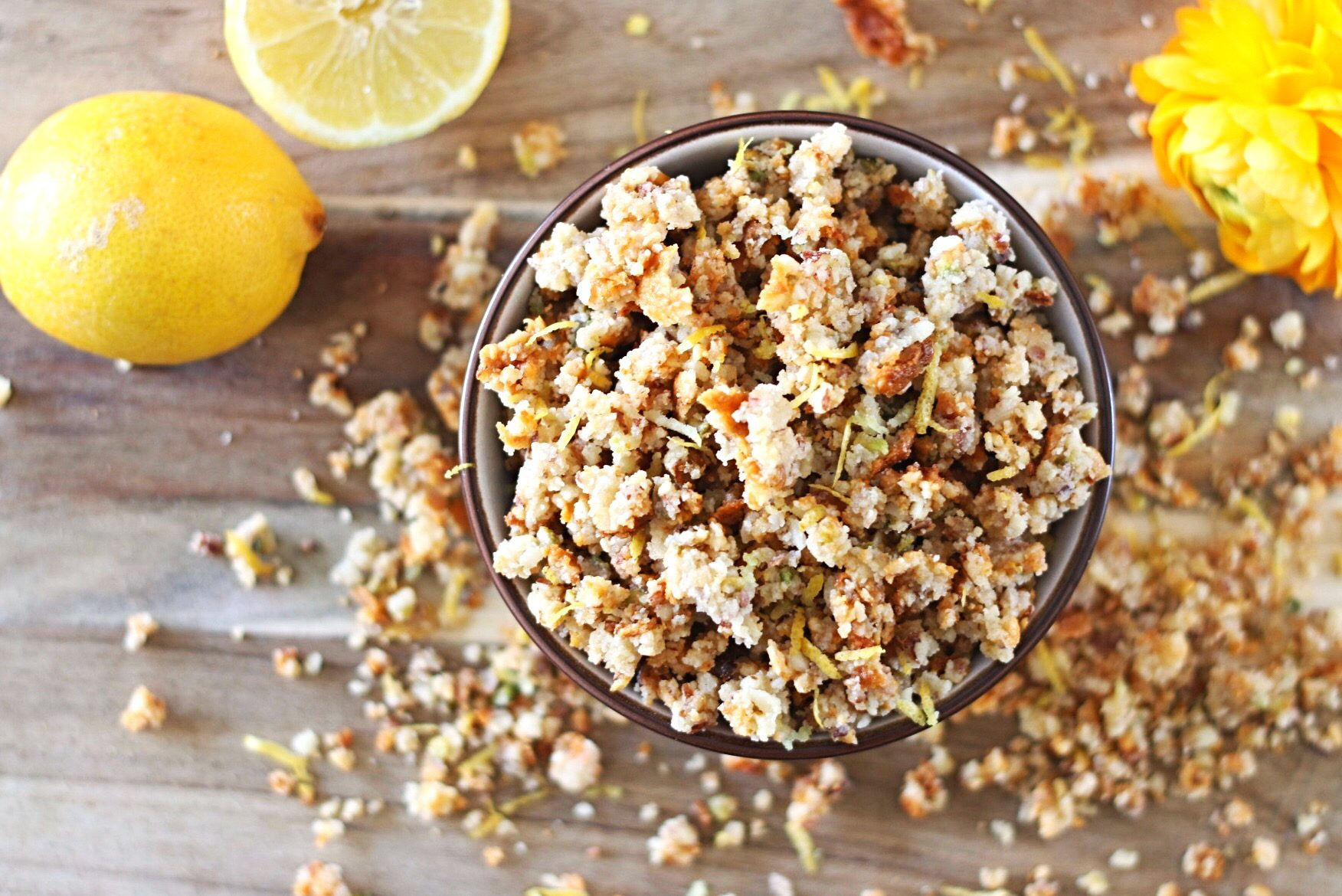 Citroen granola