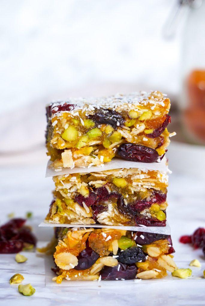 Abrikozen pistache snack