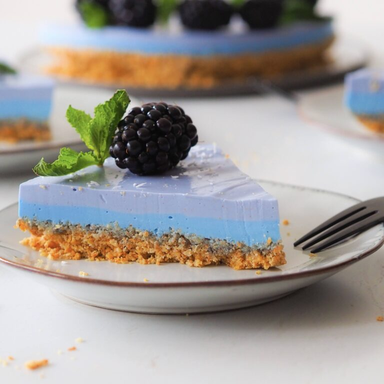 Blue Layer Cake