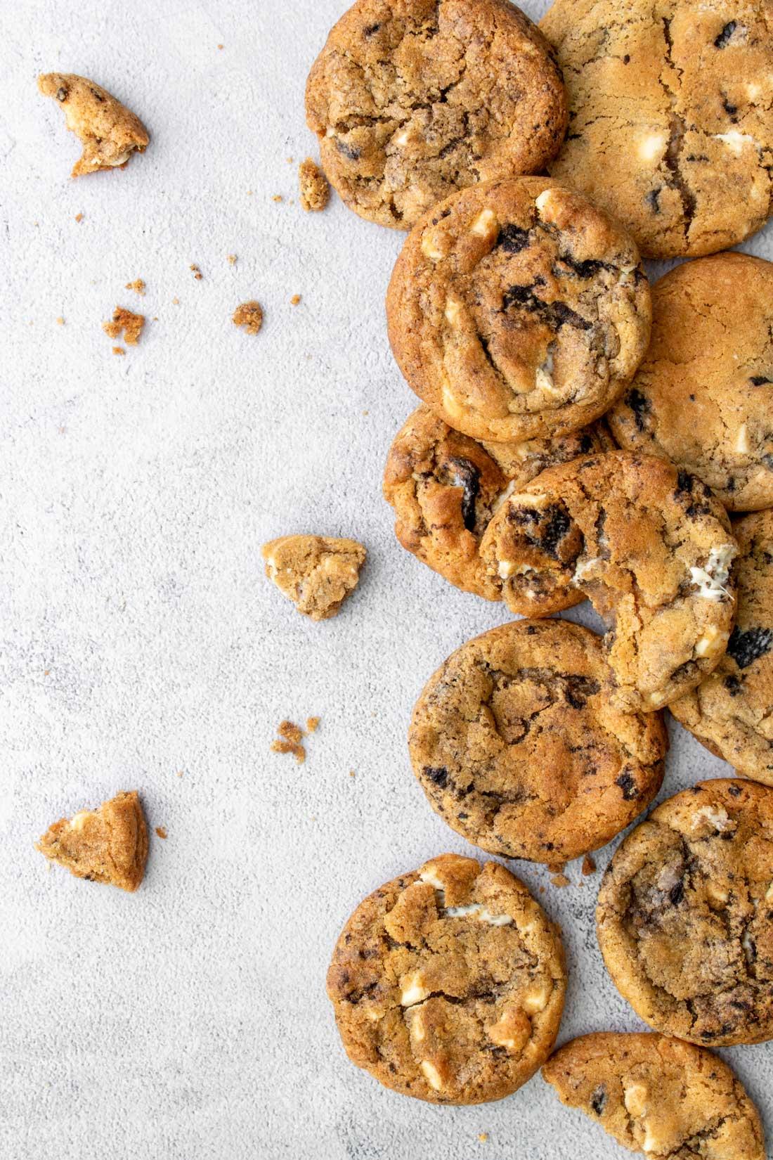 Oreo cookies staand