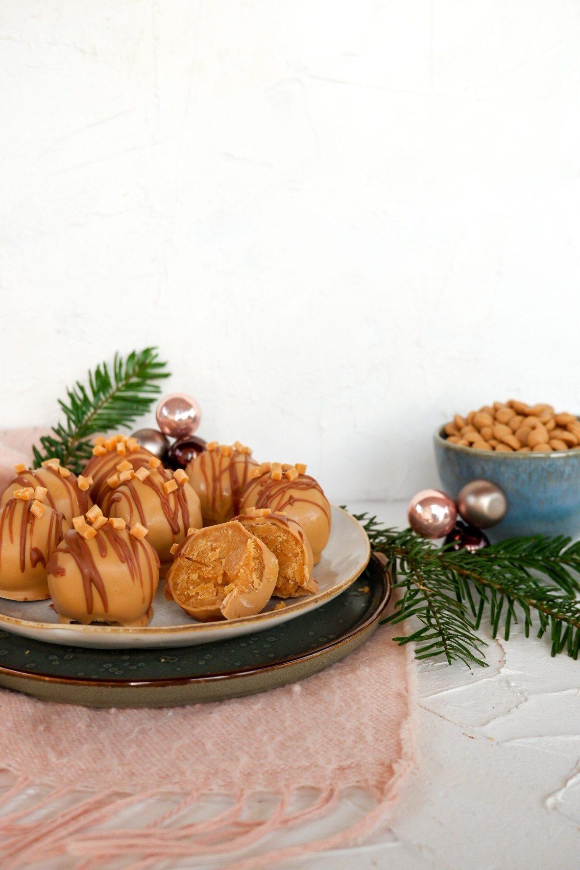 Caketruffels met mini fudge