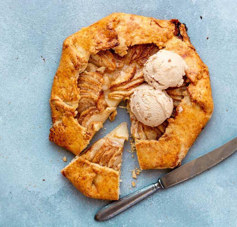 Herfstige appel galette