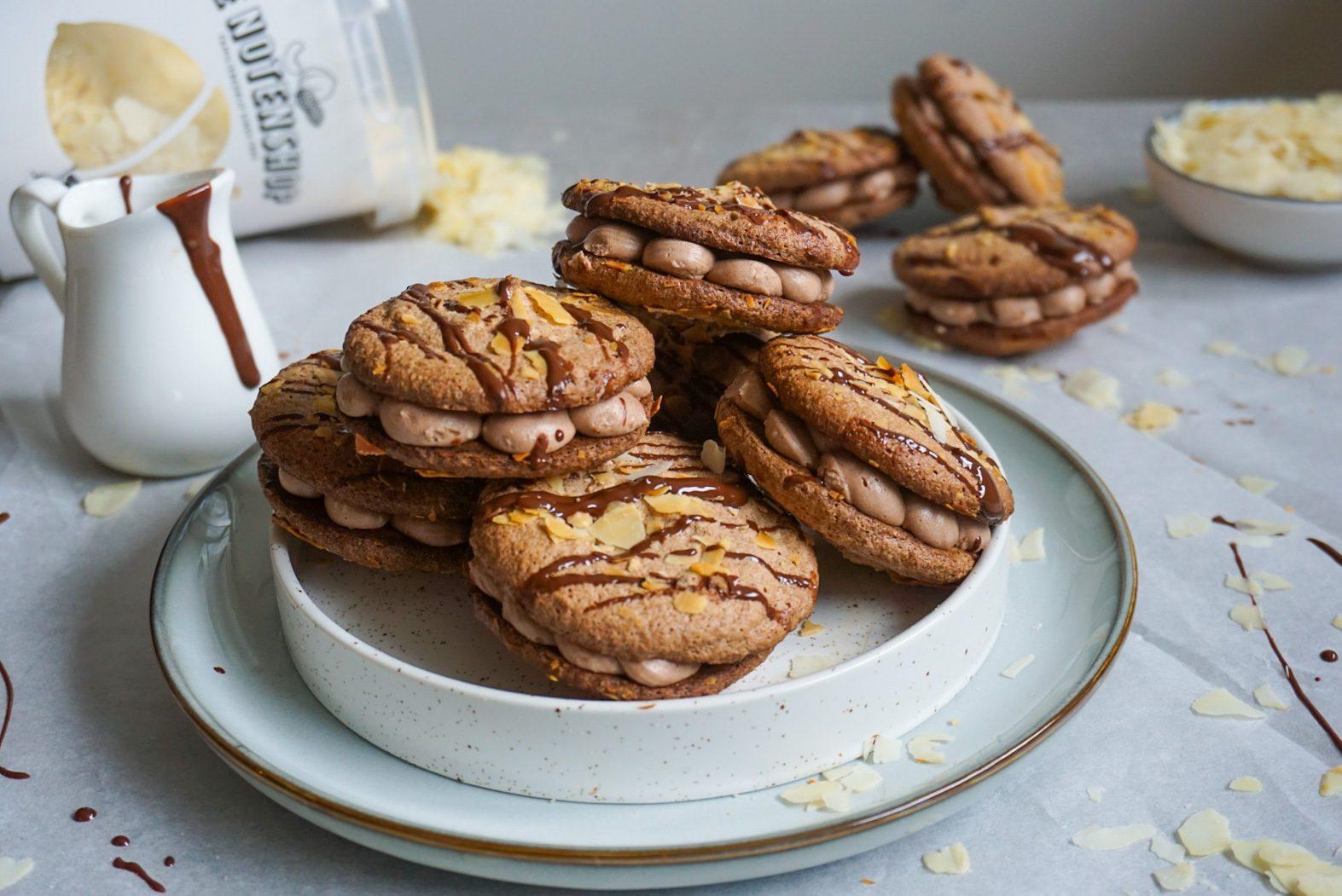 Chocolade koeken zonder koemelk en gluten