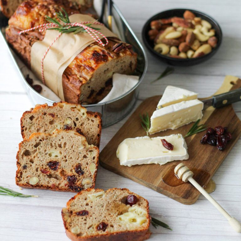 Brie en cranberry brood