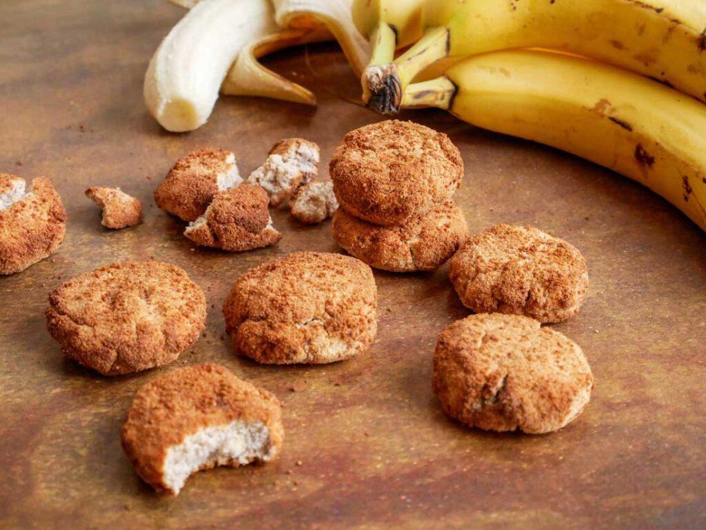 Crunchy Bananenkoekjes