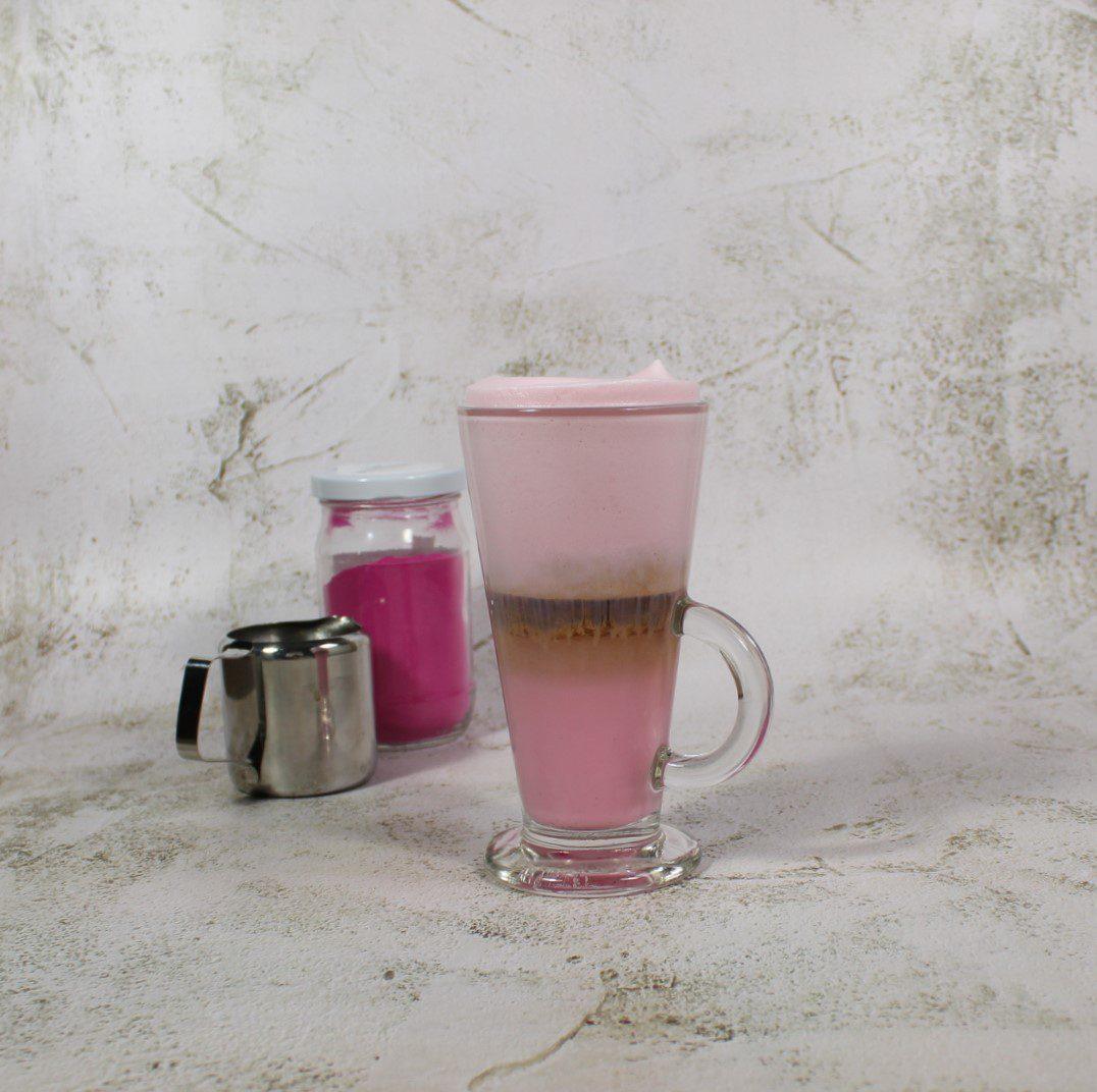 Pink Latte Macchiato