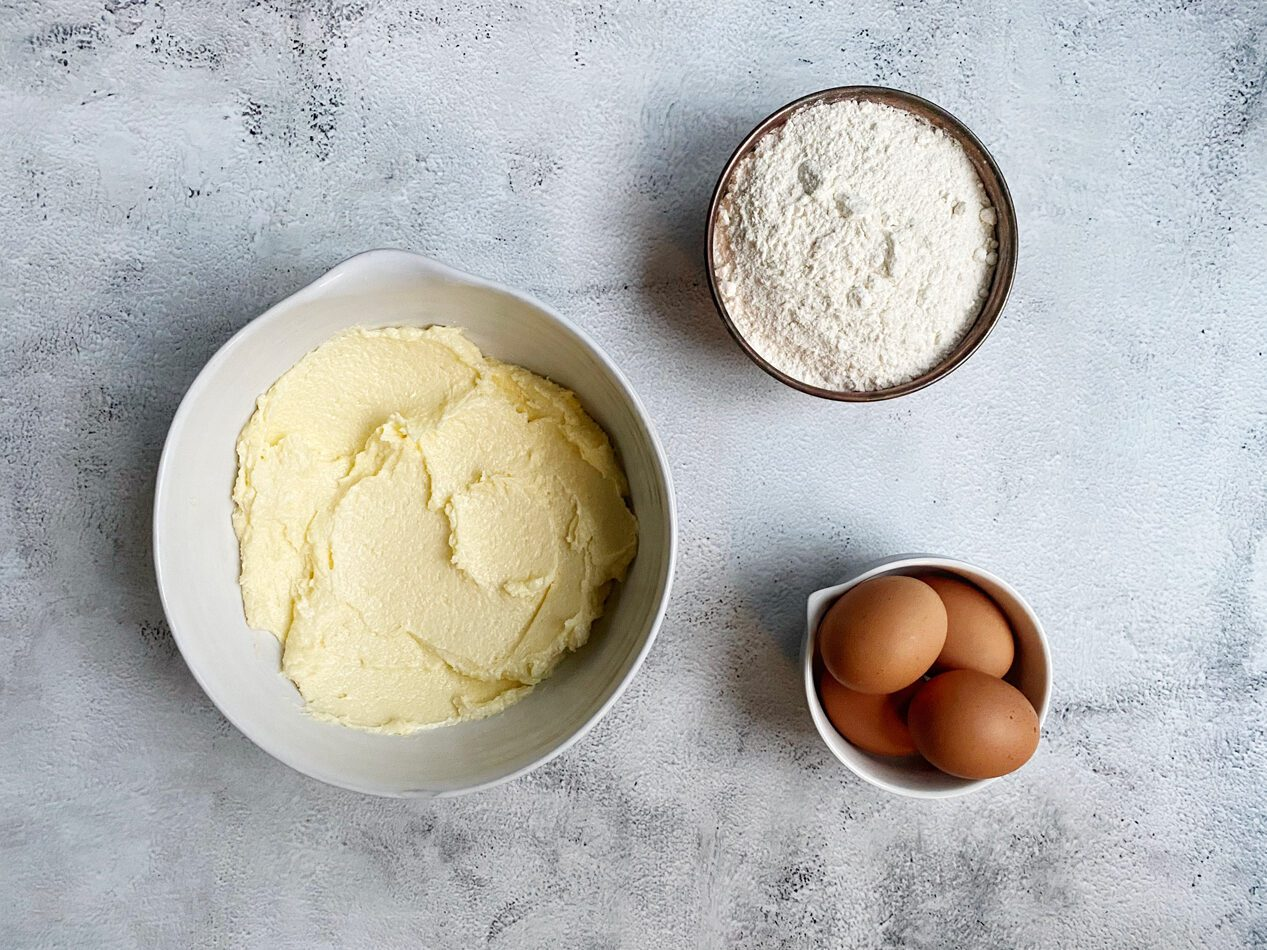 Boter gemengd met suiker