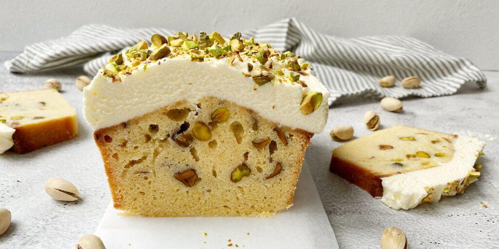 Cake met pistache en citroen