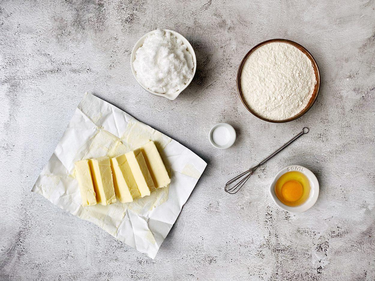 Ingrediënten voor boterkoek