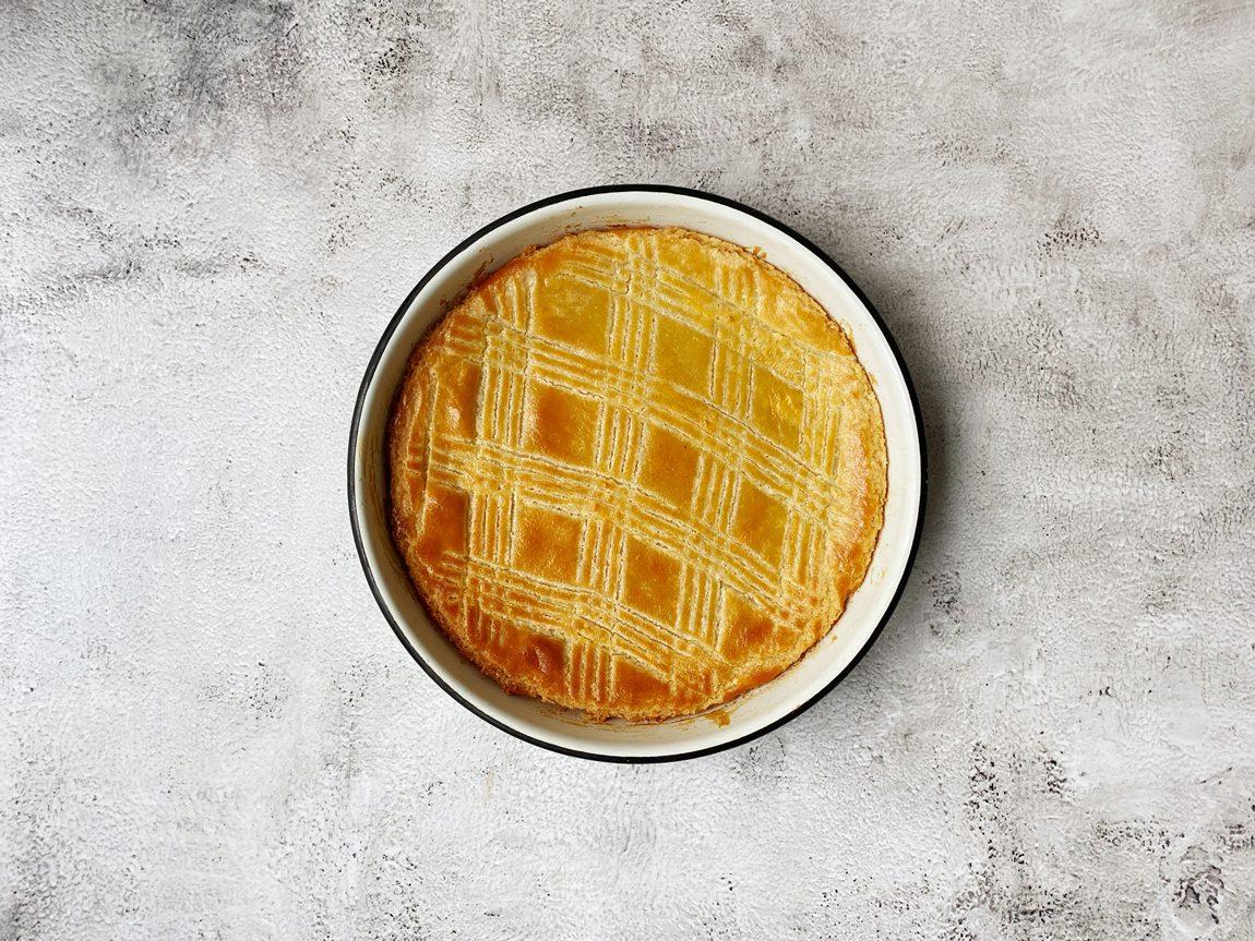 Verse boterkoek uit de oven