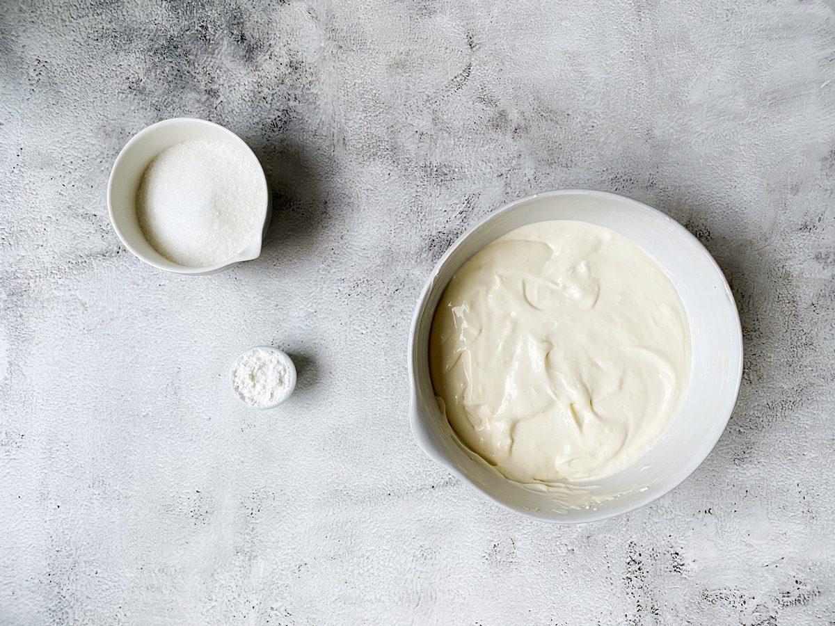 Vulling voor cheesecake