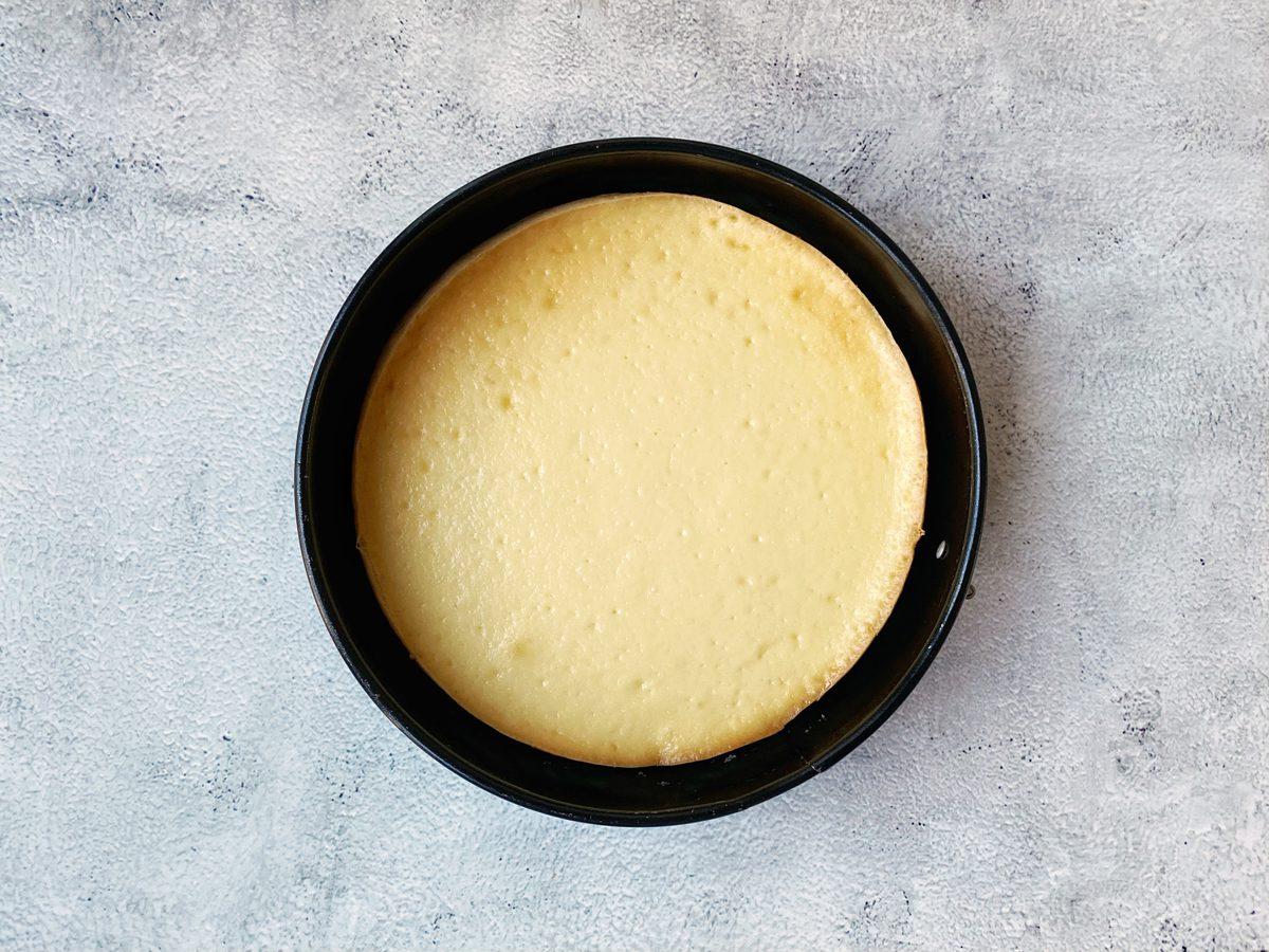 Cheesecake vers uit de oven
