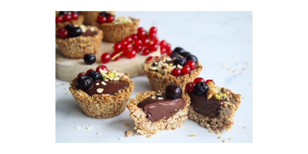 Glutenvrije chocolade cupcakes