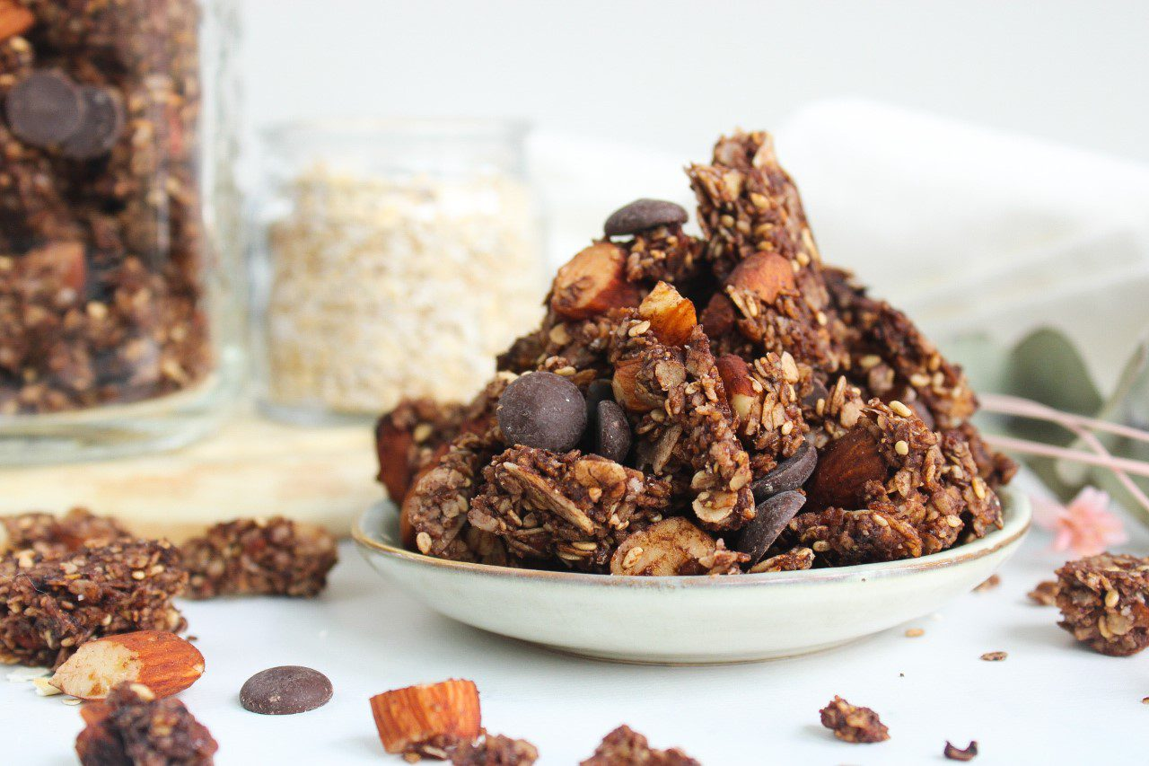 Chocolate/almond Cruesli