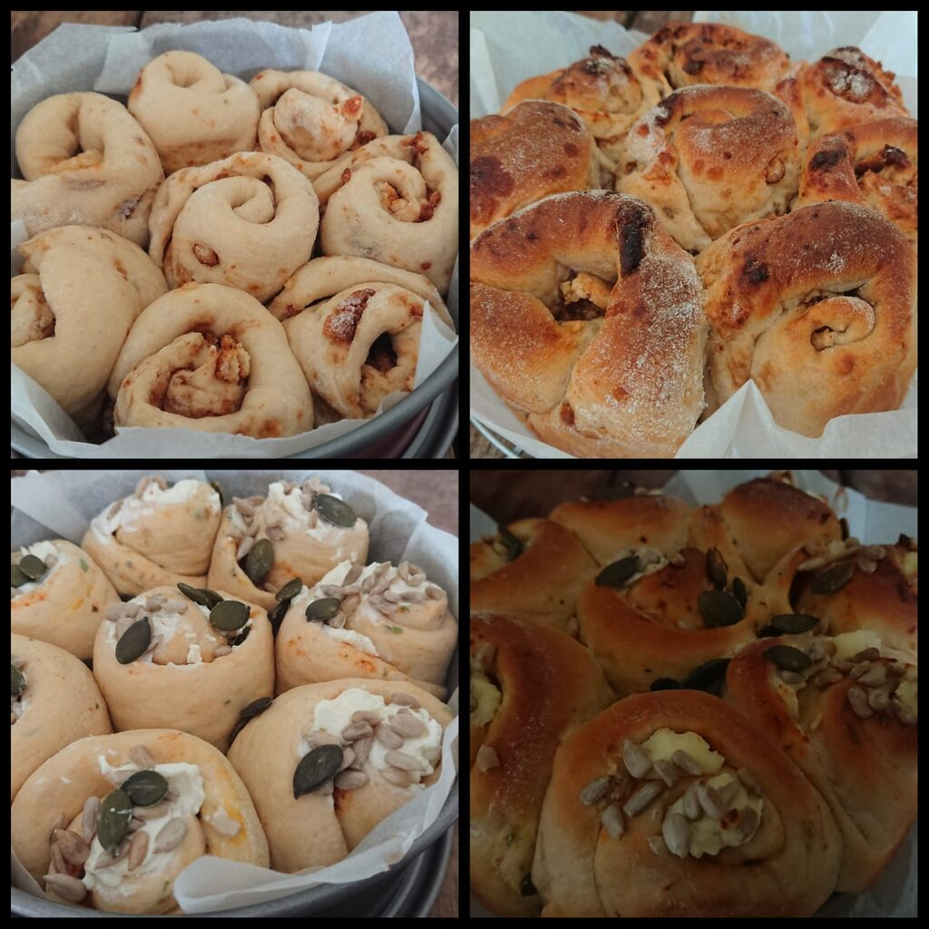 Zoet & hartig breekbrood