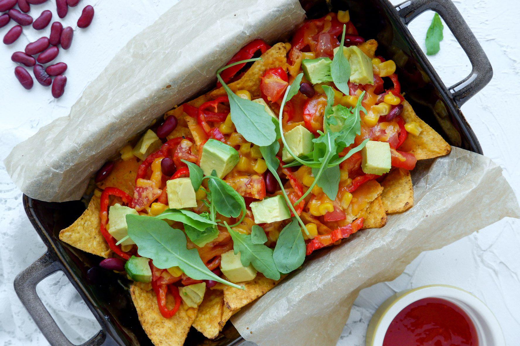 Mexicaanse nacho's
